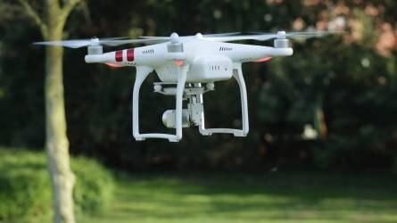 Drónos növényvédelmi bemutatót tartanak Kalocsa mellett