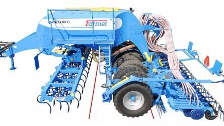 Farmet Falcon - Sokoldalú vetőgép számos opcióval