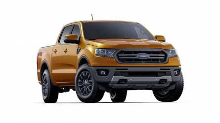 A Ford Ranger átvette a vezető helyet a Toyota Hiluxtól