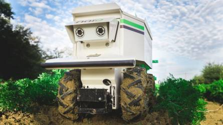 Hazánkba is megérkeztek a mezőgazdasági robotok - Naïo agrobotok a magyar földekre