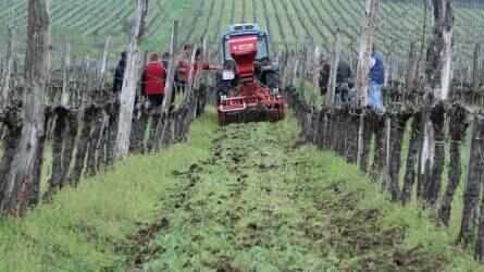 Fenntartható szemlélet, hosszú távú gondolkodás - Güttler szőlészeti gépbemutató Egerben