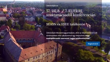 57. IALB Nemzetközi Szaktanácsadói Konferencia és EUFRAS találkozó