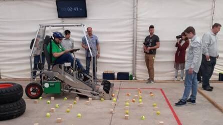 Kombájnt építettek a mérnökhallgatók - CLAAS UniTech mérnökverseny Törökszentmiklóson