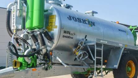 Magas nyomású mosásra is használható a JOSKIN négy új tartálykocsija