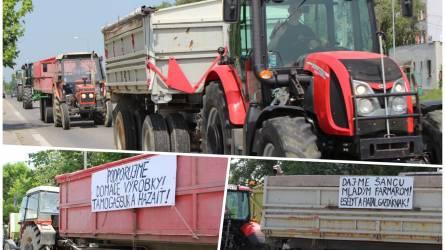 Több száz traktorral tiltakoznak a gazdák - Országos gazdatüntetés Szlovákiában