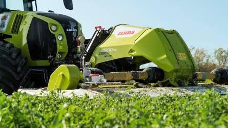 CLAAS DISCO MOVE – új front kasza jobb talajkövetéssel