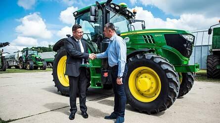 A 25. John Deere traktor – Márkahűség mesterfokon