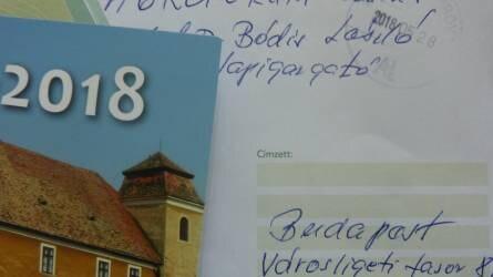 Kaptam egy levelet