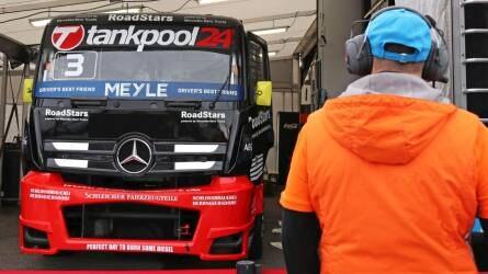FIA Kamion Európa-bajnokság - Tesztvezetés a Hungaroringen Kiss Norbival