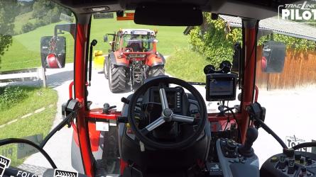 Egyetlen gépkezelő, két dolgozó traktor? - Új, intelligens technológia a ZF és a Lindner összefogásából
