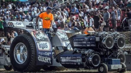 Ismét lesz Tractor Pulling Hajdúböszörményben