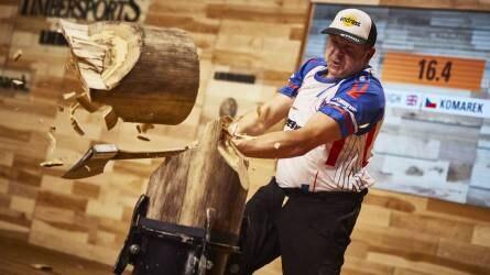 Elképesztő világrekordok születtek a favágók világbajnokságán