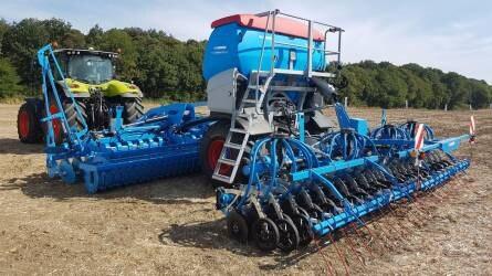 Égszínkék talajművelés Franciaországban – Lemken újdonságok