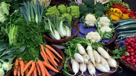 Jelöletlen zöldséget és a gyümölcsöt találtak Csongrád megyében