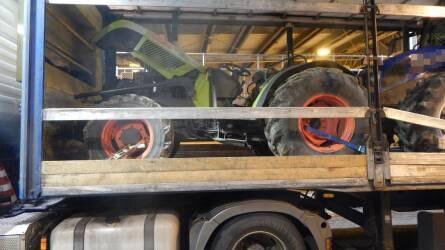 Három munkagépet foglaltak le a rendőrök Gyulán