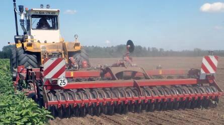 Repcevetést megelőző talajmunkák – Forgatás nélküli talajművelés, magágykészítés