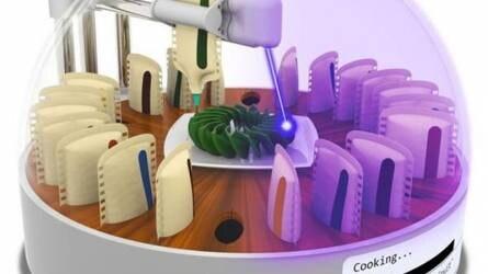 """A jövő ételeit 3D nyomtatóval és lézerrel """"főzik"""" majd!"""