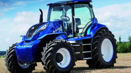 A New Holland metán hajtású traktor koncepciója elnyerte a 2018 Good Design díjat