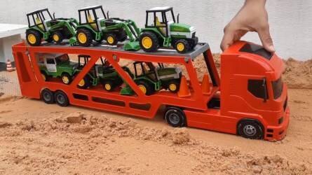 10+1 traktoros videó kisgyerekeknek