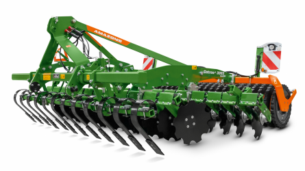 Mellső gerendely Crushboard simítóval, vagy traktornyom lazítóval Catros Specialhoz, vagy CatrosXL-hez