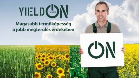 YieldON, a hozamfokozó szántóföldi biostimulátor