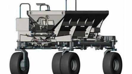 Csúcstechnológia: automatizált műtrágyaszóró