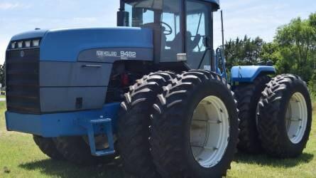 A New Holland feljött a második helyre a traktorpiacon