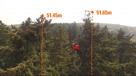 51 méter, 65 centiméter, több, mint 140 éves és köszöni, jól van