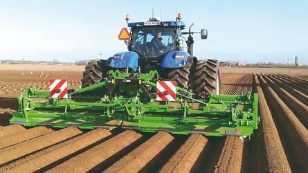 Burgonya- és zöldségtermesztés tavaszi munkálatainak támogatása a megfelelő gépekkel