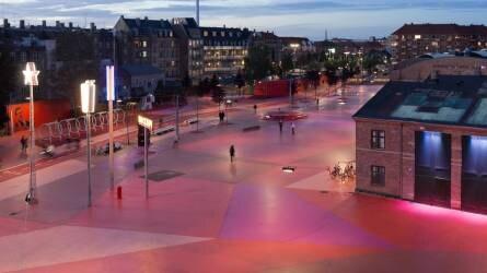 Superkilen Park, Koppenhága – városi tájépítészet a sokszínűség jegyében