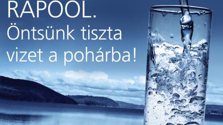 RAPOOL - Öntsünk tiszta vizet a pohárba!