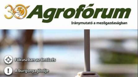 Megjelent a májusi Agrofórum
