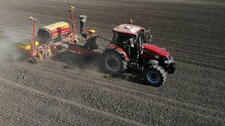 Precíziós kukoricavetés a szikes és homokos talajok ölelésében