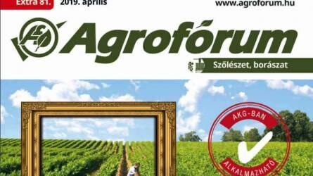 Megjelent az Agrofórum Szőlő Extra