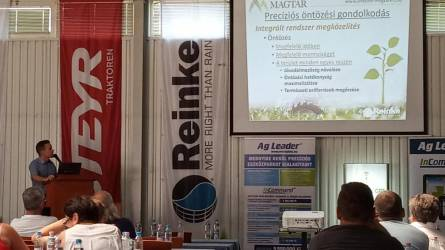 Szolnoki Precíziós Gazdálkodási Nap: a Magtár GPS Kft. és az Agro Aim Hungária Kft. szervezésében