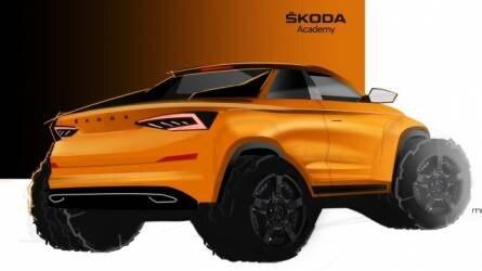 Pickup-változat készül a Kodiaqból