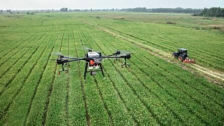 Négyszeresére nőhet a mezőgazdasági drónok piaca az Egyesült Államokban 2024-re