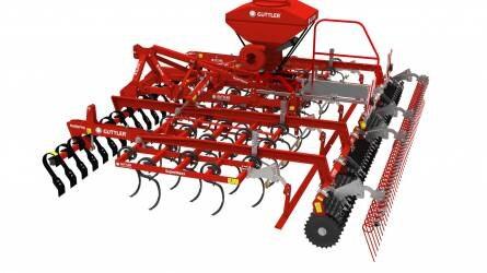 A két Güttler talajművelő eszköz a legtöbbet használt gép a gazdaságban