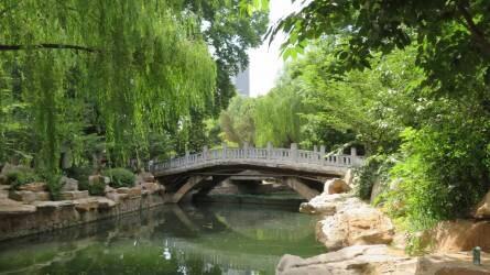 A kínai közkertek legfontosabb elemei