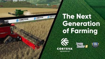 A Corteva Agriscience a Farming Simulator bajnokság fő támogatója