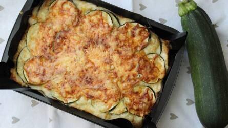 Cukkinis lasagne - recept