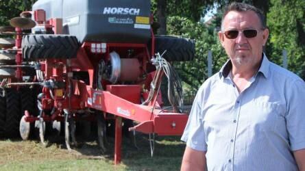 A repce karógyökereinek kifejlesztve - HORSCH Focus vetőgép a Vas megyei gazdaságban