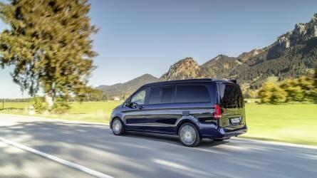 Mercedes-Benz V-osztály: a sikermodell még vonzóbb lett