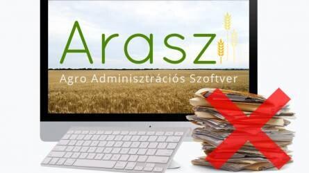 ARASZ -gazdálkodási napló!