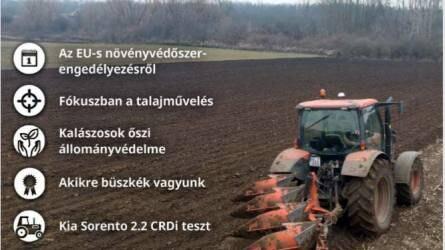Megjelent az Agrofórum októberi lapszáma