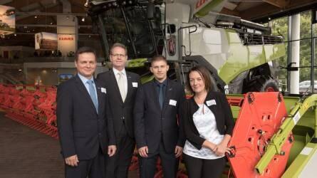 CLAAS ösztöndíjat nyertek a mezőgéptervező hallgatók