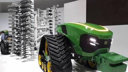 John Deere robot traktor: nem álhír – valóság!