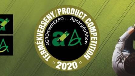 AGROmashEXPO, AgrárgépShow 2020 - Hazai és Nemzetközi Termékfejlesztési díj pályázat