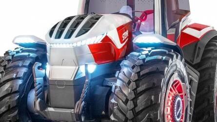Hannoverben a jövő traktora – Bemutatkozott az első hibrid STEYR