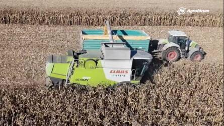 """Aratják a waxy kukoricát Dombóváron - """"Egy mezőgazdász sosem lehet teljesen elégedett"""""""